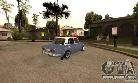 2106 VAZ viejo v2.0 para GTA San Andreas interior