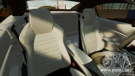 Ferrari California Novitec para GTA 4 vista interior