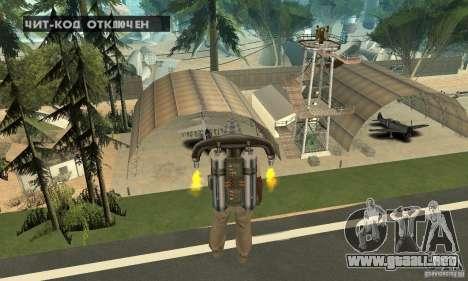 New CJs Airport para GTA San Andreas undécima de pantalla
