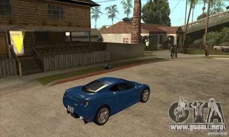 Ascari KZ1 para la visión correcta GTA San Andreas