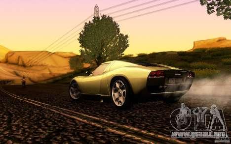 Lamborghini Miura Concept para la vista superior GTA San Andreas
