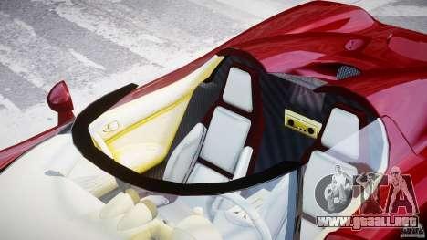 Koenigsegg CCRT para GTA 4 vista superior