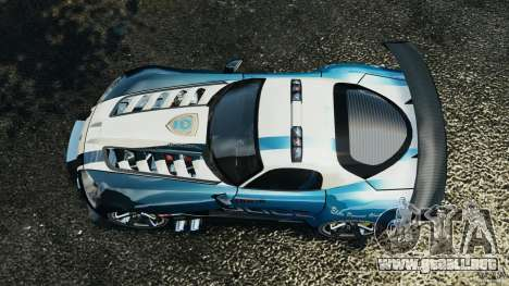 Dodge Viper SRT-10 ACR ELITE POLICE [ELS] para GTA 4 visión correcta