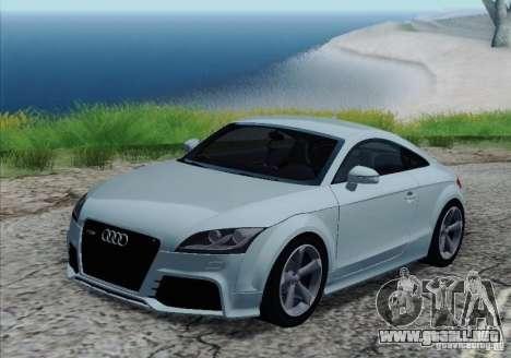 Audi TT-RS Coupe para las ruedas de GTA San Andreas