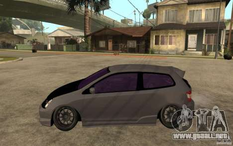 Honda Civic Type-R para GTA San Andreas left