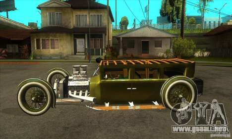 HotRod sedan 1920s para GTA San Andreas left