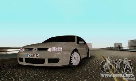 Volkswagen Golf 4 para GTA San Andreas