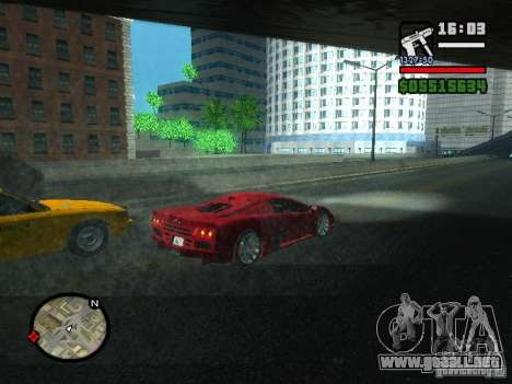 SSC Ultimate Aero para la visión correcta GTA San Andreas