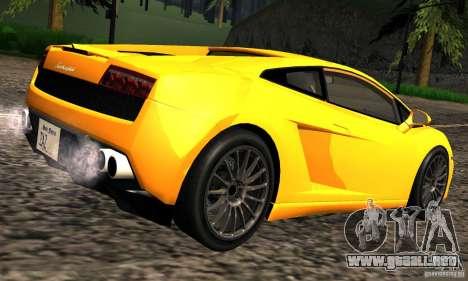 Lamborghini Gallardo LP560-4 para la visión correcta GTA San Andreas