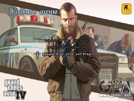 Menú como el de GTA IV para GTA San Andreas