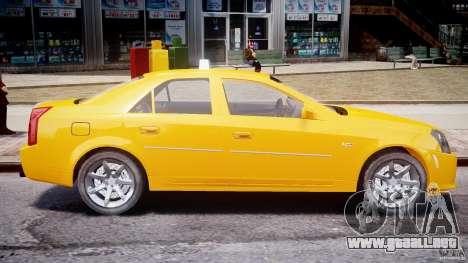 Cadillac CTS Taxi para GTA 4 left