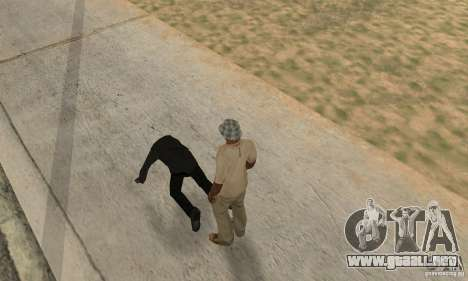 Colisión de GTA 4 para GTA San Andreas segunda pantalla