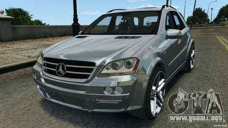 Mercedes-Benz ML63 AMG Brabus para GTA 4