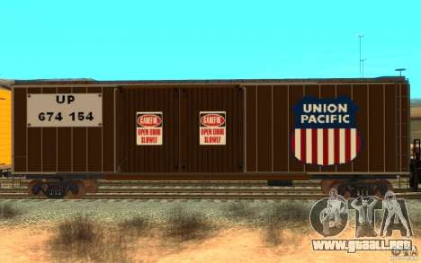 Union Pacific Reefer para GTA San Andreas left
