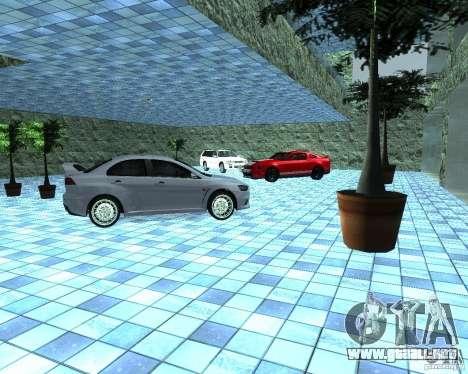 HD Motor Show para GTA San Andreas sucesivamente de pantalla
