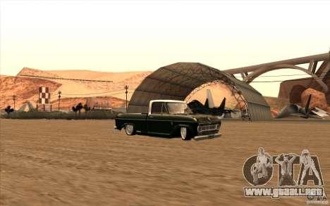 Chevrolet C-10 Fixxa para GTA San Andreas vista hacia atrás