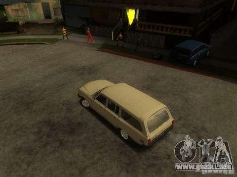 GAZ Volga 310221 Wagon para GTA San Andreas vista posterior izquierda