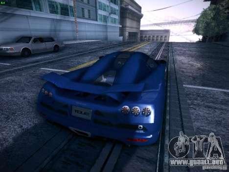 Koenigsegg CCXR Edition para visión interna GTA San Andreas