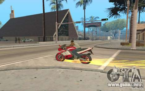 The best effects from GTA IV para GTA San Andreas sucesivamente de pantalla