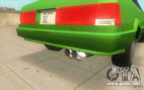 Mad Drivers New Tuning Parts para GTA San Andreas octavo de pantalla