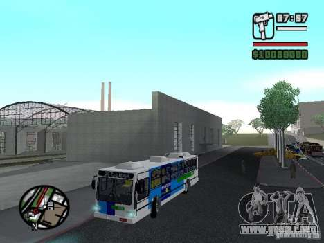 Cobrasma Monobloco Patrol II Trolerbus para vista lateral GTA San Andreas