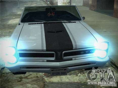 Pontiac GTO 1965 para GTA San Andreas left