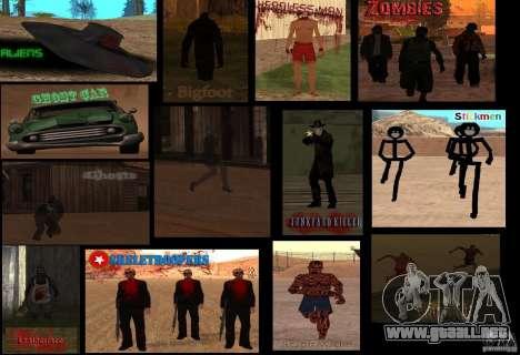 Criaturas místicas para GTA San Andreas