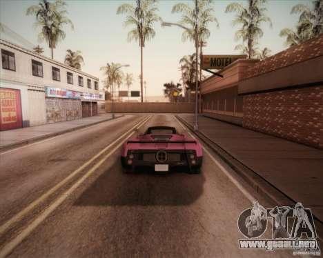 Pagani Zonda F V1.0 para GTA San Andreas left