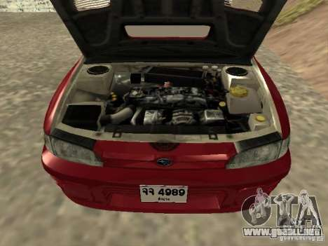 Subaru Impreza WRX STI 1995 para la visión correcta GTA San Andreas