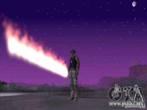 Espada de fuego para c Jay para GTA San Andreas