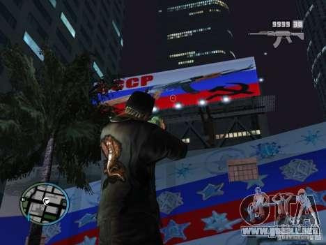 Russian Ammu-nation para GTA San Andreas segunda pantalla
