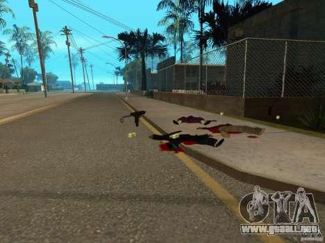 Armas nacionales Pak para GTA San Andreas octavo de pantalla