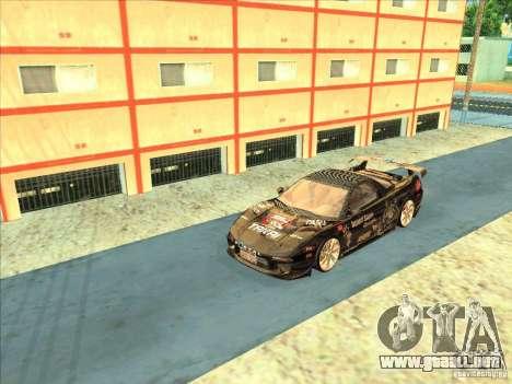 Acura NSX 1991 Tunable para visión interna GTA San Andreas