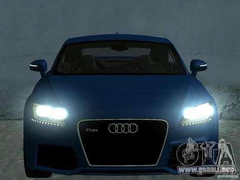 Audi TT RS para el motor de GTA San Andreas