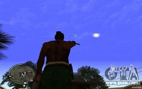 Vista v1 para GTA San Andreas sucesivamente de pantalla