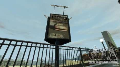 New gas station para GTA 4 décima de pantalla