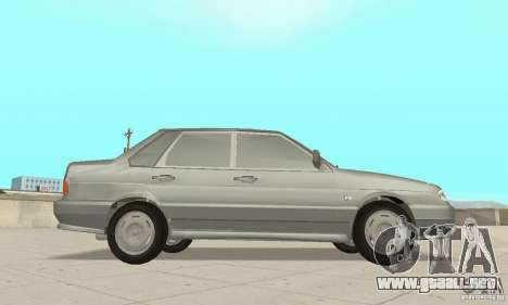 VAZ 2115 TUN para la visión correcta GTA San Andreas