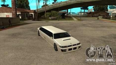 Limusina sultán para GTA San Andreas
