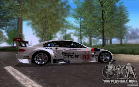 BMW E92 M3 para GTA San Andreas left