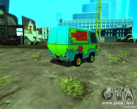 Mystery Machine para GTA San Andreas left