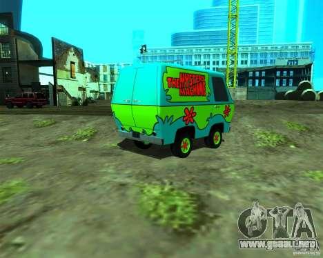 Mystery Machine para GTA San Andreas left
