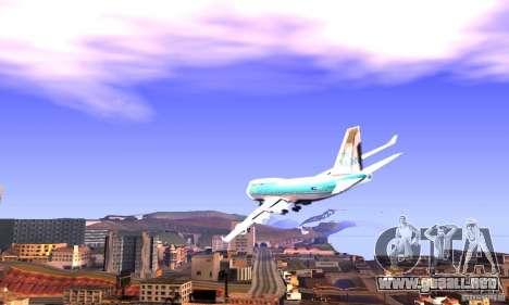 Boeing 747 KLM para GTA San Andreas left