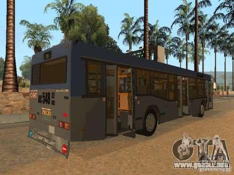 MAZ 103 para la vista superior GTA San Andreas