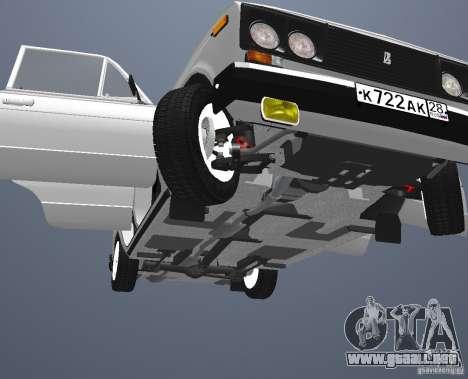 Vaz 21063 para vista lateral GTA San Andreas