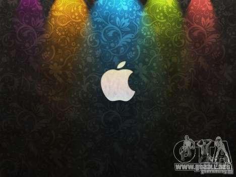 La pantalla de arranque de Apple para GTA San Andreas segunda pantalla
