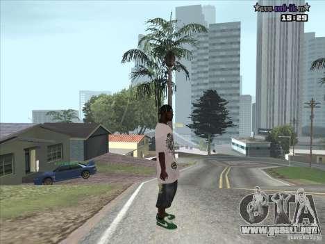 Piel nueva Suite para GTA San Andreas segunda pantalla