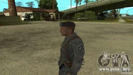 Shepard de CoD MW2 para GTA San Andreas segunda pantalla
