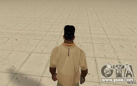 Vidrio de Bandana para GTA San Andreas tercera pantalla