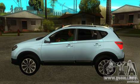Nissan Qashqai 2011 para GTA San Andreas left