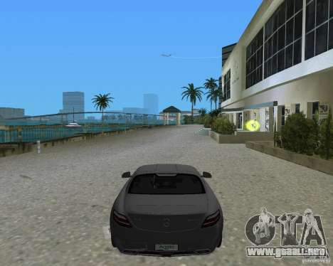Mercedes Benz SLS AMG para GTA Vice City vista lateral izquierdo